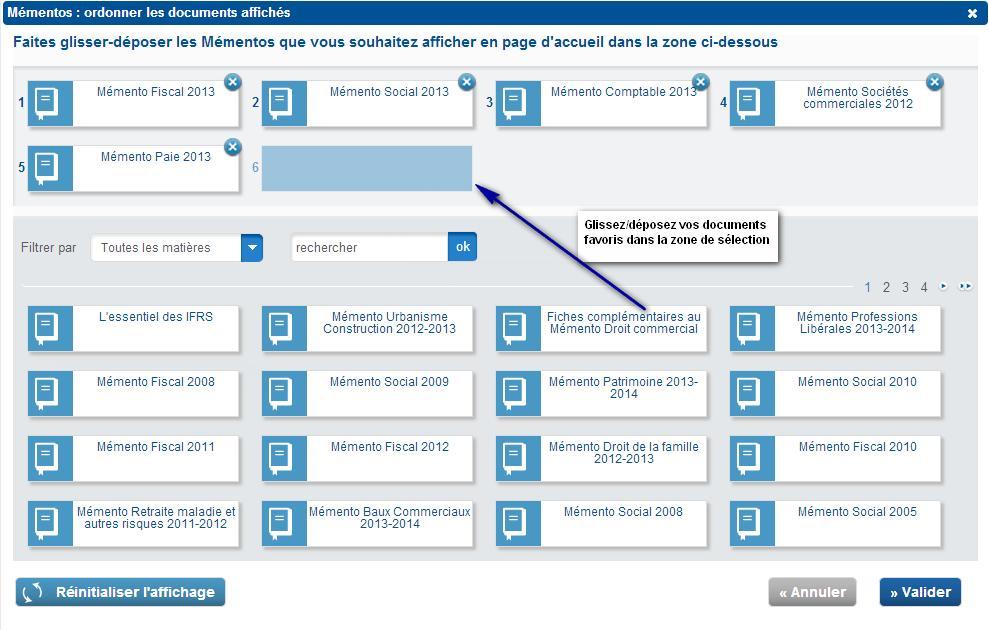 logo_efl Filtrez les contenus de votre page d'accueil par